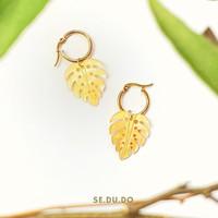 Gadis earrings | Mother of pearl, anting mutiara asli