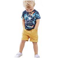 Wirles Setelan Baju Anak Cowok California Usia 1-6 Tahun