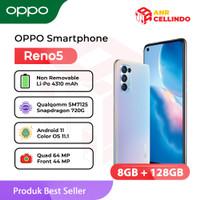 OPPO Smartphone Reno5 8/128GB - Garansi Resmi