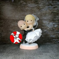 HIASAN CAKE PENGANTIN BALLERINA (PMWGNDG) HIASAN/TOPPER WEDDING