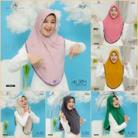 Jilbab Hijab instan Arrafi AR 384 Kerudung Bergo Serut Pet Antem