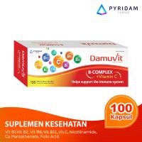Damuvit Vitamin B Kompleks dengan Vitamin C - 100 Kaplet