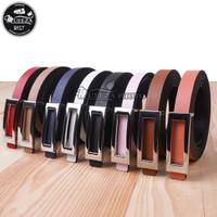 Ikat Ban Pinggang Wanita Cantol Fashion Kulit PU Women Belt 05 1.5cm