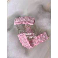Emily Tic-Tac Clip (Powder Pink) - Hairpin Studio