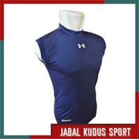 Baju Kaos Dry Fit Daleman Manset Baselayer Singlet Lekbong Futsal Bola