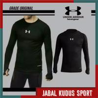 Baju Baselayer Manset Kaos Daleman Olahraga Lengan Panjang Futsal Bola