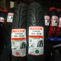 Ban Maxxis Diamond Sepasang Depan Belakang Ma3DN 70/90-14 & 80/90-14