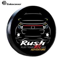 Cover Ban Sarung Ban Serep Rush Toyota besar - BAHAN SPANDUK