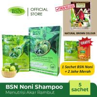 BSN Noni shampo shampoo menutrisi akar rambut isi 5 sachet