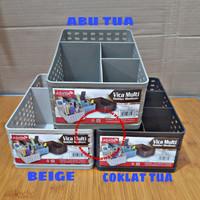 Asvita basket/keranjang plastik Vica Multi holder ASVITA