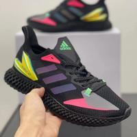 Sepatu Pria Adidas X9000 4D Core Black Signal Pink ORIGINAL - Hitam, 40