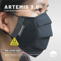 [GREY] ARTEMIS 3.0 | Triple Layer System | Masker 3 Lapis