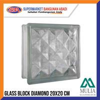 GLASSBLOCK / GLASSBLOK / GLASS BLOCK MULIA DIAMOND 95021
