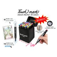 Spidol 30 Warna Gambar Anak Sketsa Twin Marker Sketch Copic Pensil