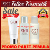 SK-II/SK2/SKII PAKET BASIC PEMULA MINI GC 6GR+FTE 10ML+FT CL 10ML