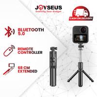 JOYSEUS JK03 Bluetooth Selfie Stick Kamera Portabel Tripod Remote