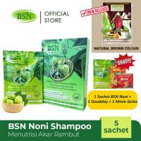BSN Noni shampo 5 sachet GRATIS Gulaku 1 kg
