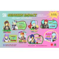 Stiker Angkot Genshin Impact