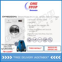 ELECTROLUX EWW8025DGWA Dryer UltimateCare™ 300 Washer Dryer 8/5kg
