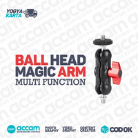 Magic Arm Kamera ANDOER Ball Head Screw 1/4 Inch - A73