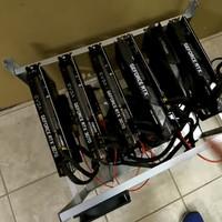 MINING RIG RTX 3070 PAKET SULTAN 6 GPU - MESIN CUAN - FREE MAINTENANCE