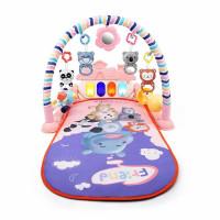 Baby play gym musical Mainan anak bayi rattle & piano playmat matras