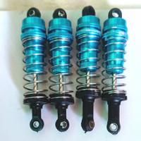 shock metal untuk Rc 1/10 80mm (HSP,LRP,Tamiya& WLtoys)