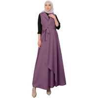 Baju Wanita Muslim Shofiya - Warna Ungu