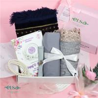 Mukena Elsa Paket Gift Seserahan Mahar Rukuh Premium (Paket Luxury)