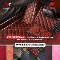Karpet Mobil 7D XPE Leather Toyota Innova 6 seat 2010-2021 Full Bagasi