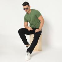 Kale Kaos Polos Cotton Combed 30S - Tshirt Arion Variasi Green