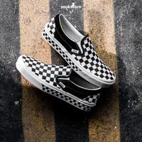 Vans Slip On Nextor Checkerboard Black White Original - BNIB