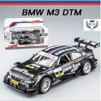 DIECAST MINIATUR MOBIL BMW M3 DTM METAL SERIES 1:32 PREMIUM QUALITY - Hitam