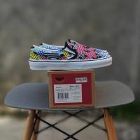 Sepatu Vans Slip On Shark Week ORI Premium BNIB Quality