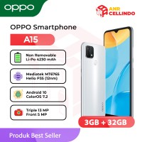 OPPO Smartphone A15 3/32GB - Garansi Resmi