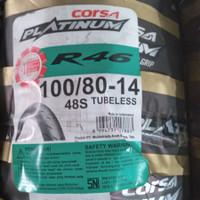 BAN CORSA R46 100/80 - 14 TUBELESS