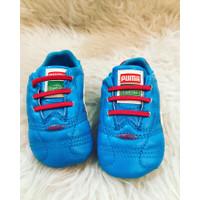 PUMA SESAME STREET Baby Shoes Preloved - Biru, 0-3 Bulan