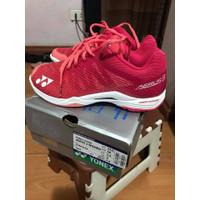 Sepatu Badminton Wanita dan Anak Yonex Aerus 3 Rose Pink Original