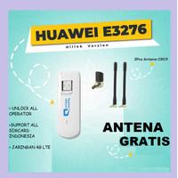 Modem Huawei E3276 4G LTE Speed 150Mbps Unlock bisa semua kartu