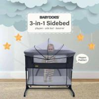Tempat Tidur Bayi Kasur Bayi Minibed 3in1 Bad cover Bayi NJ-KB242