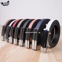 Ikat Ban Pinggang Wanita Cantol Fashion Kulit PU Women Belt 04 1.5cm