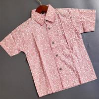 Batik Huza Batik Anak lis Soft Bahan Katun Lengan pendek - Motif 1,2,3