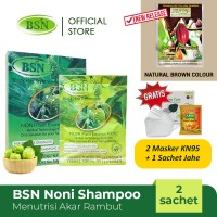 BSN Noni BPOM (Eco) - Menutrisi akar rambut, menghitamkan rambut
