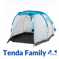 Tenda Camping Arpenaz Tent 4.1 Tenda Keluarga Besar Original Quechua
