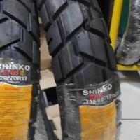 Shinko E705 E 705 130/80-17 ban motor dual purpose