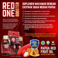 ❤️100% original ❤️ Papua red one booster fruit oil supplement