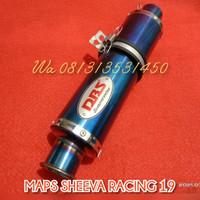 Selencer knalpot racing DBS bluemoon Satria Fu Sonic Vixion cb150 dll