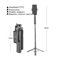 MIXIO A61 Tongsis Bluetooth / Tripod Stabilizer Gimbal Selfie Stick