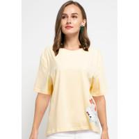 Fila Baju Kaos Wanita Cadenza - Yellow