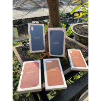 Apple official leather case - second